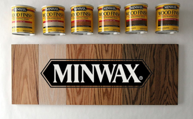 Minwax Stain color sample