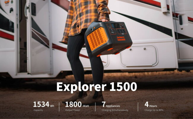 The Best Portable Power Station for 2021 – Jackery 1500
