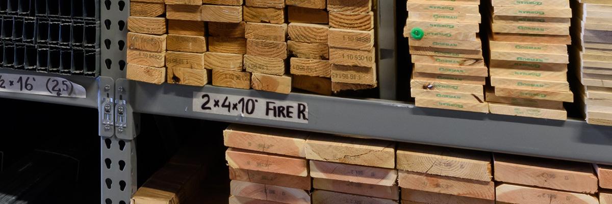 Fire Retardant Framing Lumber