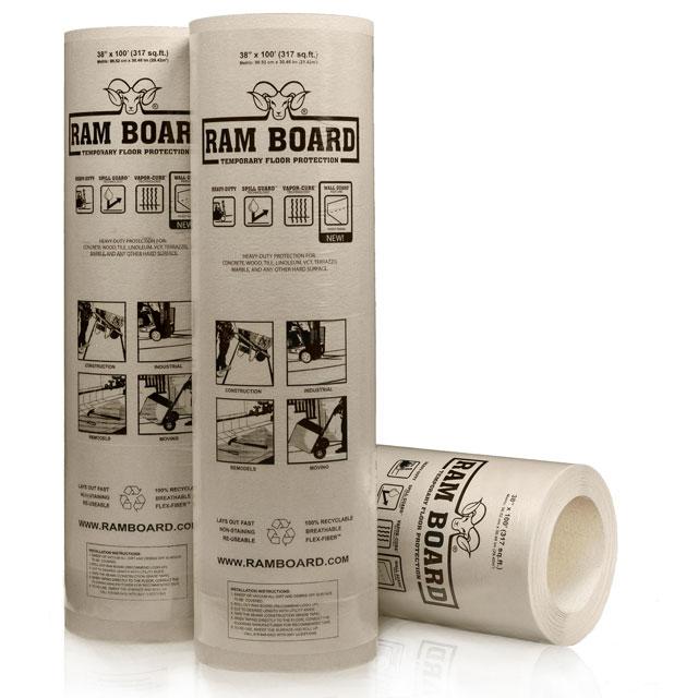 ramboard roll floor protection