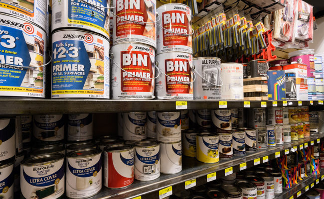 Paints, Stains, Primers & Sundries