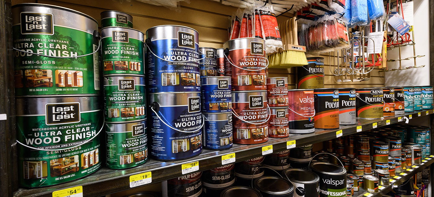 Paints, Stains, and Primers