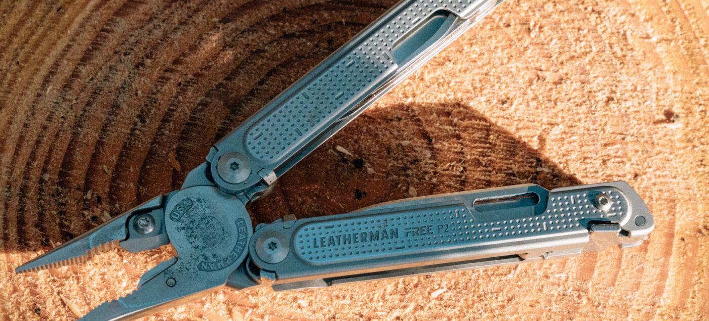 weatherman multi tool on wood